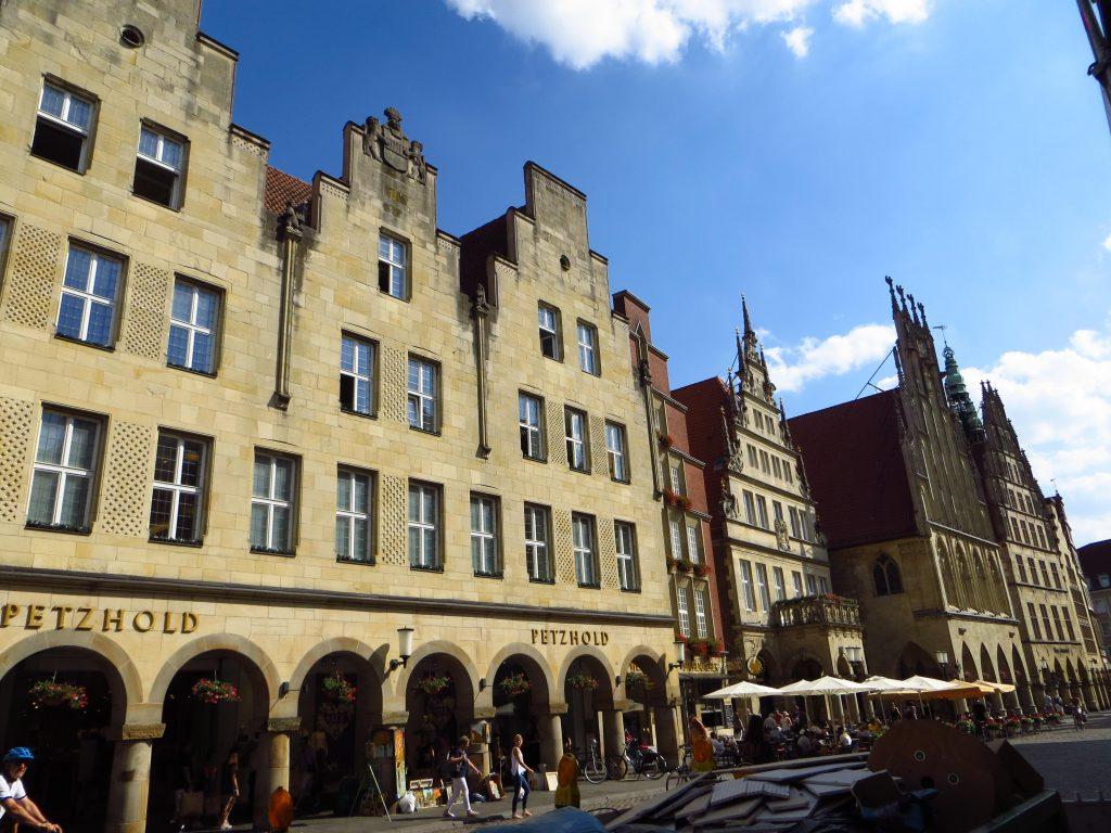 De historische binnenstad van Münster.