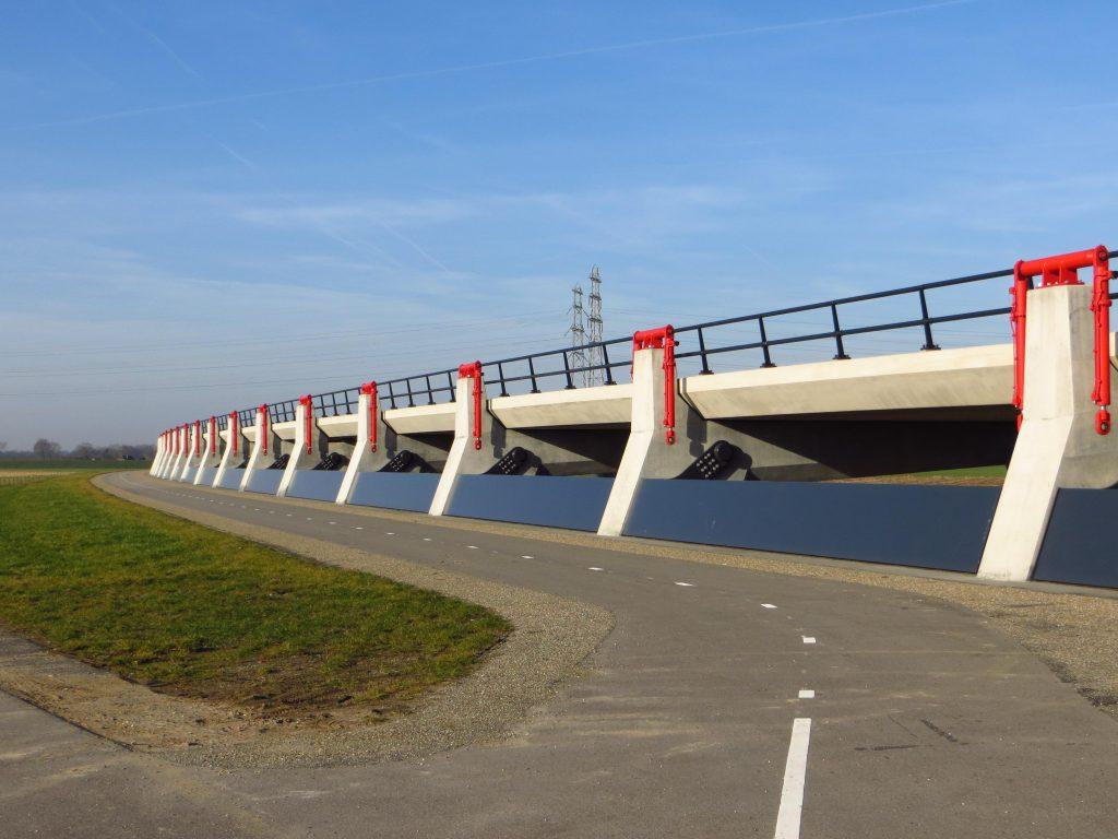 Ruimte voor de rivier: Hoogwatergeul Veessen - Wapenveld (18 februari 2019).