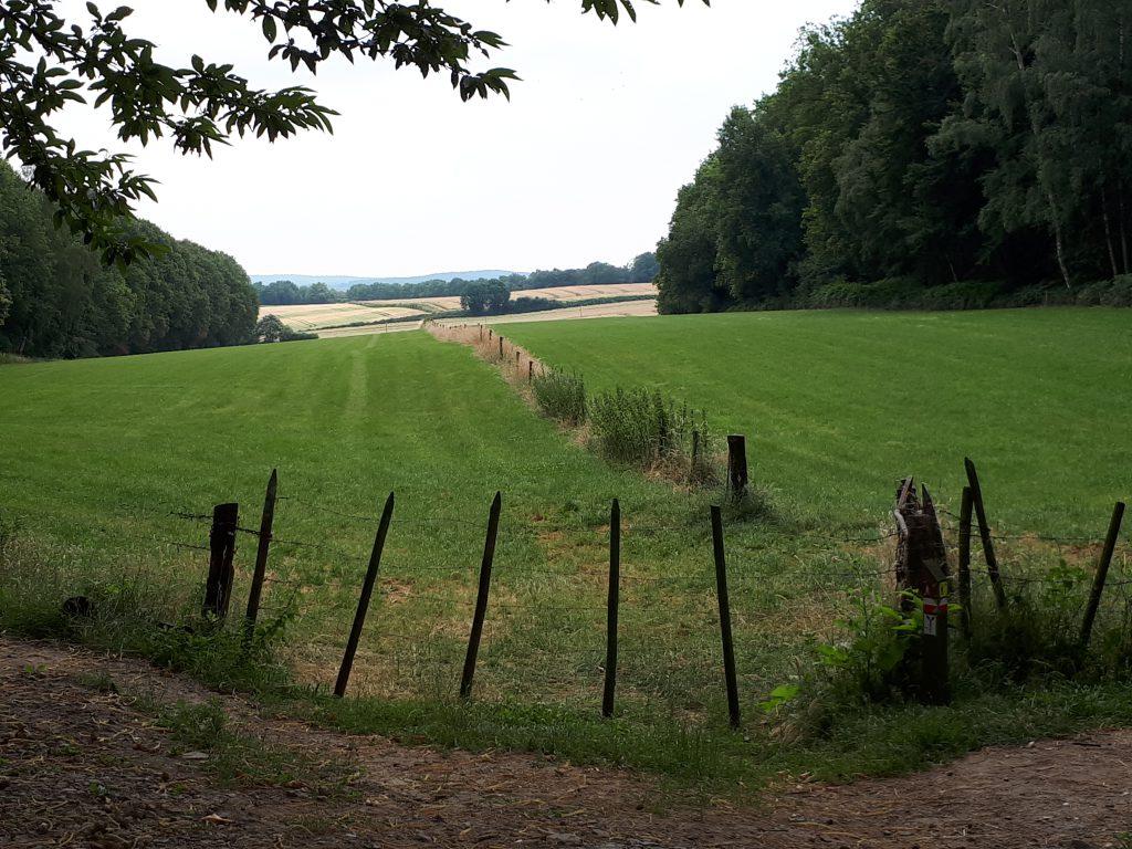 Een doorkijkje naar Duitsland, vlakbij de Duivelsberg.