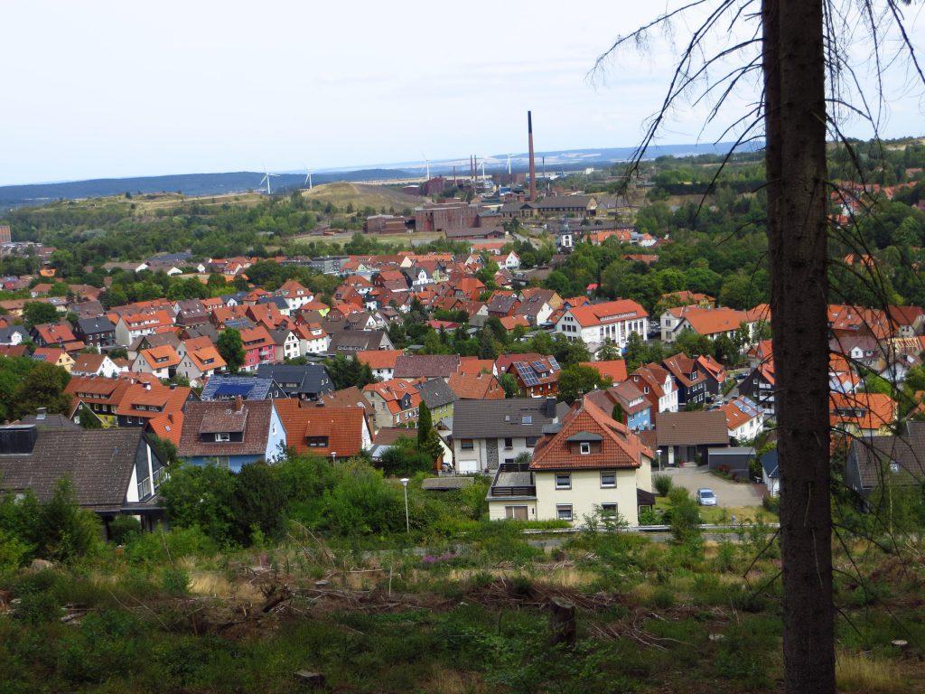 Ik nader Goslar,maar het venijn zit in de staart vandaag.