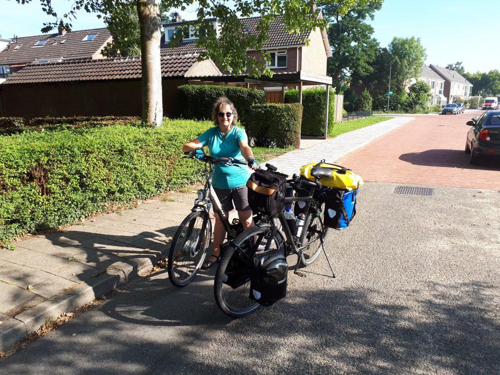 Vertrek op zaterdag 31 augustus vanuit Dieren met volop zomers weer.