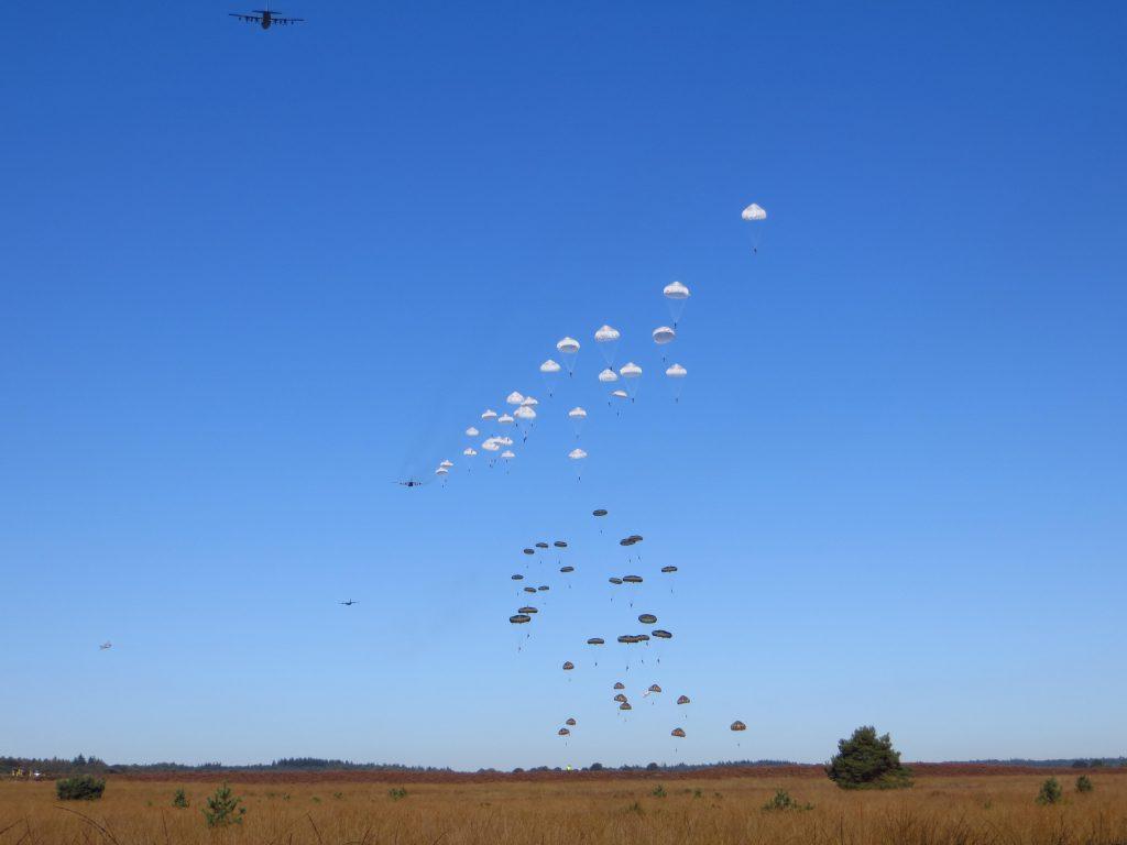 De landingen op de GInkelse Heide.