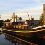 Een mooie oude boot.