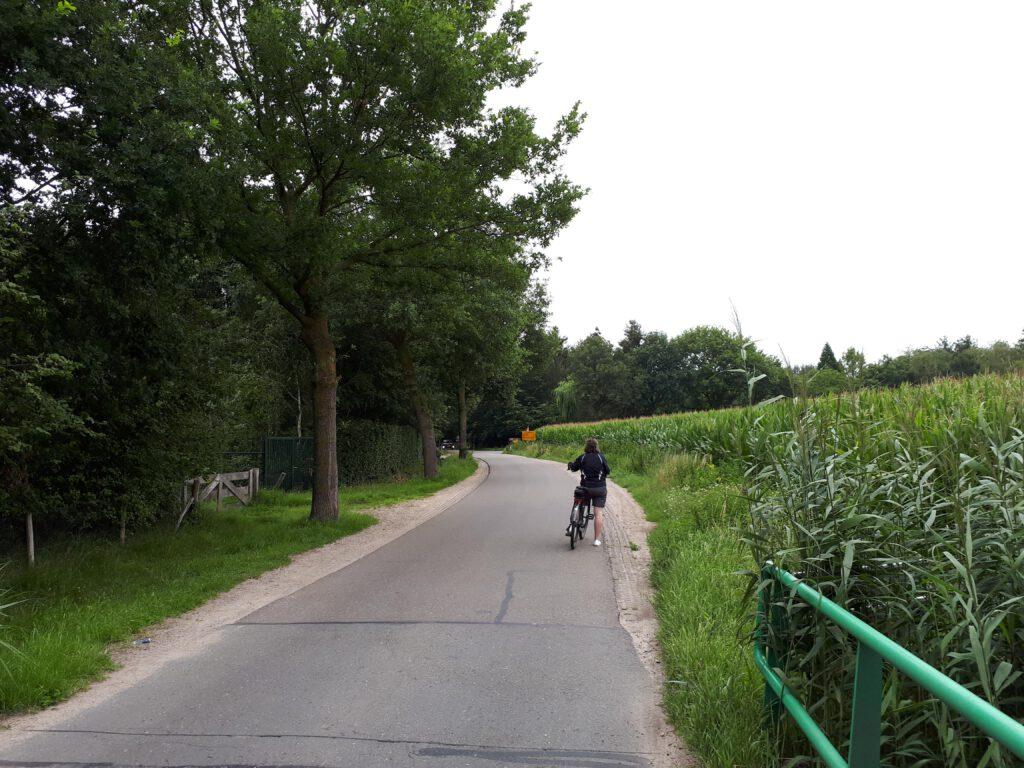 Onderweg door het Brabantse land.